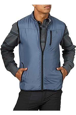 Wrangler Herren Men's Reversible Classic Vest Fleeceweste
