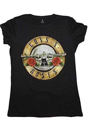 Guns N´Roses Junge Frauen Used-Look-Kugel T-Shirt in, X-Large