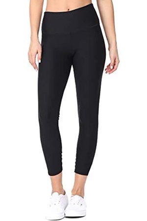 EVCR Capri-Leggings mit hoher Taille für Damen – athletische Bauchkontrolle
