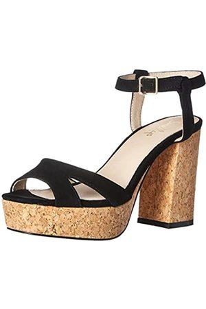 Shellys Women's Dee Heeled Sandal, Black