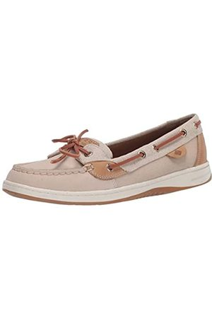 Sperry Angelfish Sparkle Oat/Tan 7.5