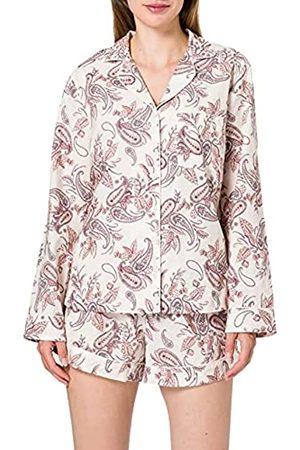 IRIS & LILLY Damen Schlafanzüge - MPJ 90640 Zweiteiliger Schlafanzug