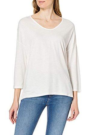 TOM TAILOR Damen 1024001 Structure T-Shirt, 10315-Whisper White