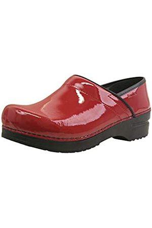 Sanita | Professional geschlossener Clog | Original handgemacht für Damen | Anatomisch geformtes Fußbett mit weichem Schaum | | 36 EU