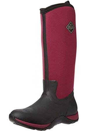 Muck Muck Damen Boots Arctic Adventure Stiefel, (Black/Maroon)