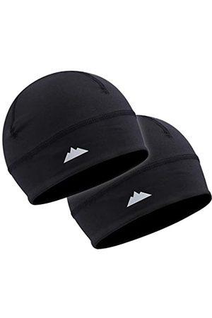 Tough Headwear Skull-Mütze / Laufmütze, für den Winter, Thermo-Unterhelm, Radsport, ultimativer Feuchtigkeitstransport, Unisex-Erwachsene