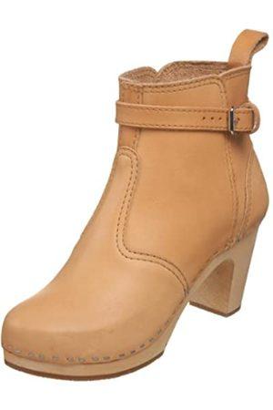 Swedish Hasbeens Damen High Heels Johdpur Boots, (Nature)