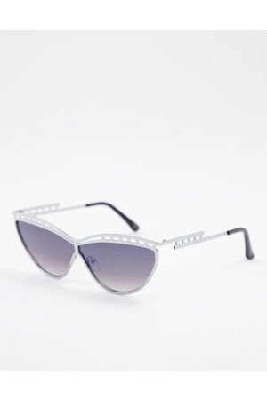Jeepers Peepers – Sonnenbrille in mit Rahmendetail