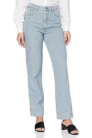 Wrangler Damen Retro Straight Jeans, (Ice Blue 72b)