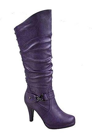 Top Moda Damen Page-65 Hohe Stiefel
