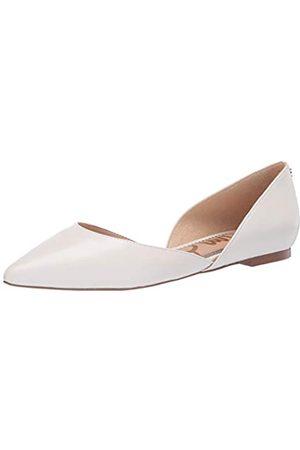 Sam Edelman Damen Ballerina Rodney Flach, Weiá (Bright White Leather)