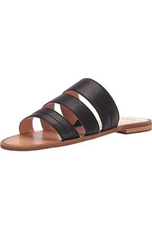 Frye Damen Evie 3 Band Slide Flache Sandale