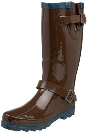 Western Chief Damen Strap Classic Regenstiefel, (Cocoa)