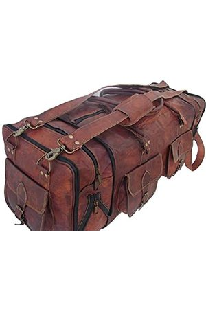 DHK Handgefertigtes Vintage-Reisegepäck, 76 cm