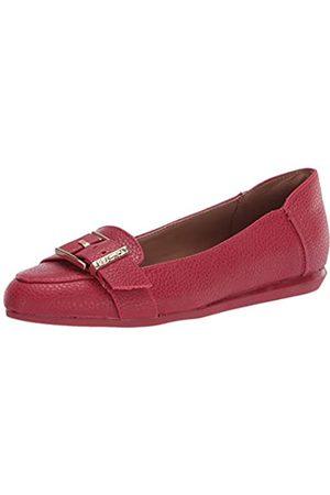 Kenneth Cole Damen Schlupfschuh flach mit Schnalle Detail Loafer