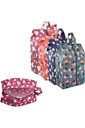 WMZYIQI Reisetasche für Damen und Herren, staubdicht, wasserdicht, mit Reißverschluss, (4 Pack a)