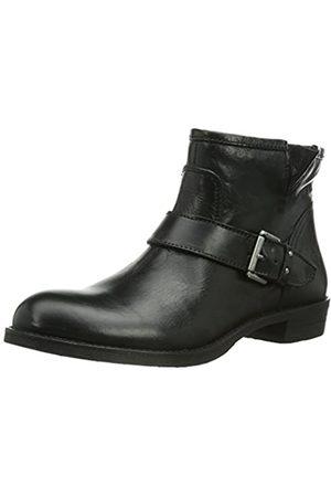 Marc O' Polo Damen Flat Heel Bootie Biker Boots, (Black 990)
