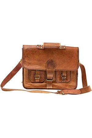 Riverbend Leather Handtasche aus echtem Leder für Damen und Herren