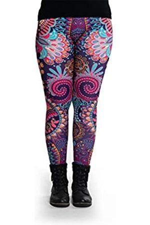 cosey Damen 88% Polyester, 12% Elasthan Leggings