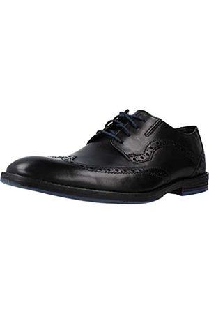 Clarks Herren Prangley Limit Brogue Schnürhalbschuhe, (Black Leather)