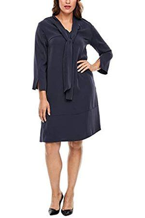 s.Oliver Damen Kleid mit Schluppen-Krage 50