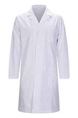 MISEMIYA Medizinische Uniformen Unisex Top Krankenschwester Krankenhaus Berufskleidung - X-Large