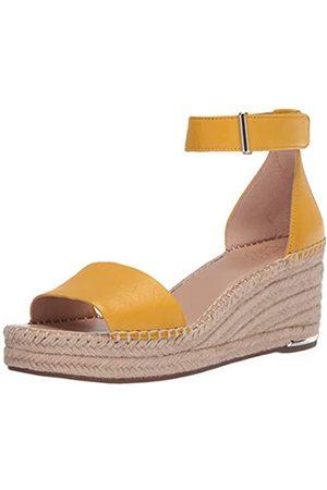 Franco Sarto Damen Clemens Keilabsatz-Sandale, (Summer Yellow)