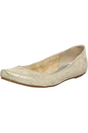 BC Footwear Damen Lemon Tart Metallic Flats