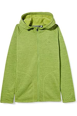 Color Kids Boys Melange with Hood Fleece Jacket