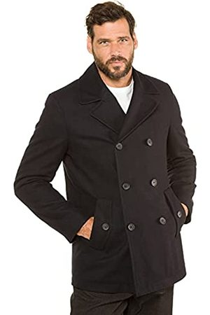 JP 1880 Herren große Größen bis 7XL, Cabanjacke, Mantel mit hochwertiger Woll-Qualität