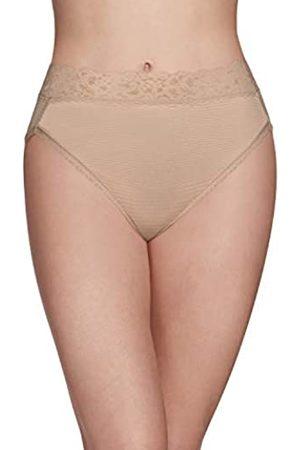 Vanity Fair Damen Slips - Damen Flattering Lace Hi Cut Panty 13280 Unterhose, /