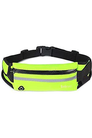 Sefexn Laufgürtel Hüfttasche, wasserdicht, verstellbar, mit reflektierenden Streifen, für alle Arten von Handys zum Laufen, Workout, Wandern