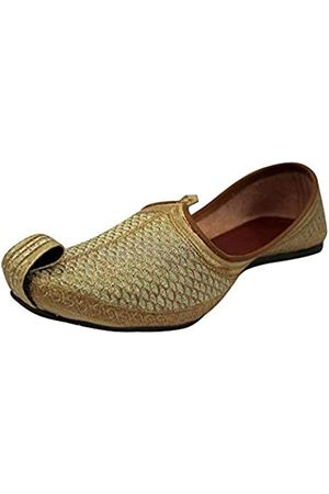 Stop n Style Punjabi Jutti für Herren Khussa Schuhe Ethnische Jutti Indische Schuhe Hochzeit Schuhe