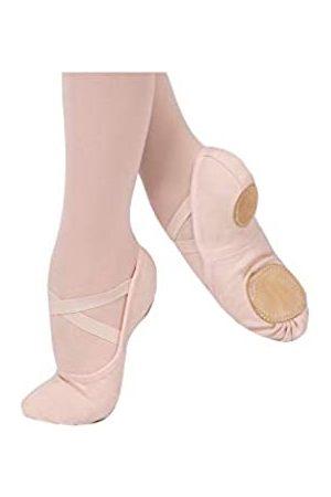 SANSHA Damen Split-Sole Ballet Ballerinas