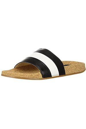 LFL by Lust for Life Women's LL-Affect Slide Sandal, Black/Multi