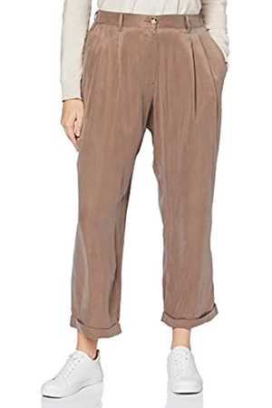 French Connection Damen Rosanna Cupro Trousers Lässige Business-Hose