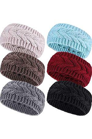 Pangda 6 Stücke Damen Kabel Stricken Stirnbänder
