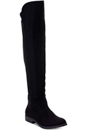 STYLE &CO Style & Co Hayley Stiefel mit weitem Waden, Reißverschluss, kniehoch