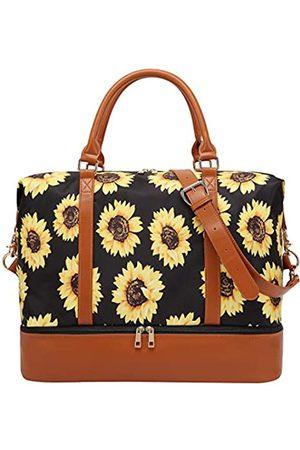 BLUBOON Damen-Handgepäcktasche mit Schuhfach, Segeltuch