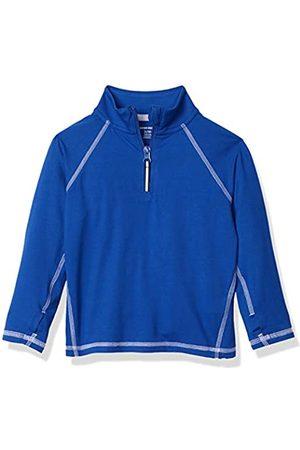 Amazon Jacke mit halblangem Reißverschluss, für Jungs, Blue