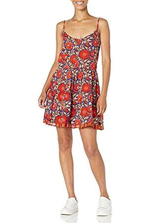 Velvet By Graham & Spencer Damen Tracy Printed Floral Spaghetti Strap Dress Lssiges Kleid