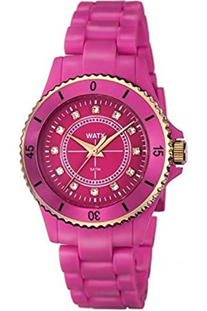 Watx Analog Quarz Uhr mit Plastik Armband RWA9015