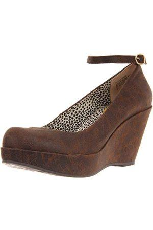 BC Footwear Damen Sure Thing Distressed Pump, ( Distressed)
