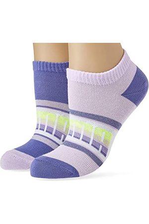 PUMA Girls Kids' Seasonal Sneaker-Trainer (2 Pack) Socks