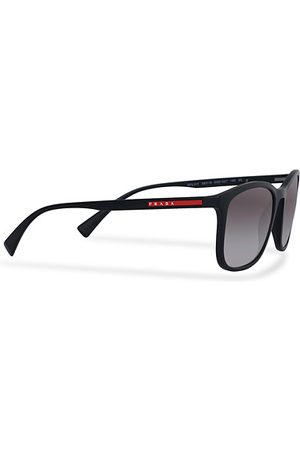 Prada Linea Rossa Herren Sonnenbrillen - 0PS 01TS Sunglasses Black/Gradient