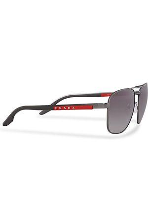 Prada Linea Rossa Herren Sonnenbrillen - 0PS 53XS Sunglasses Silver