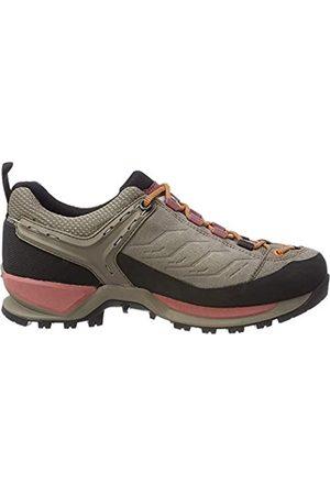Salewa Damen WS Mountain Trainer Trekking-& Wanderhalbschuhe, Walnut/Rose Brown