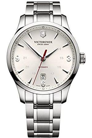 Victorinox Herren Analog Automatik Uhr mit Edelstahl Armband 241667