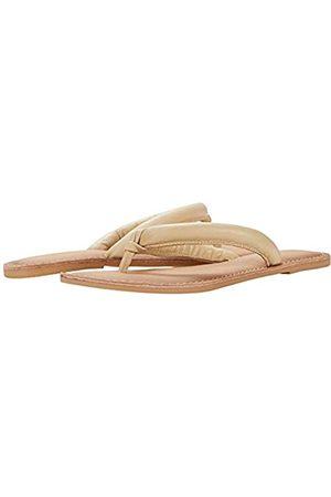 Matisse Footwear Unwind Zehensandale Leder Obermaterial und Futter Gepolsterte Innensohle Slip-On Style Mittlere Weite/Hellbraun, (nude)