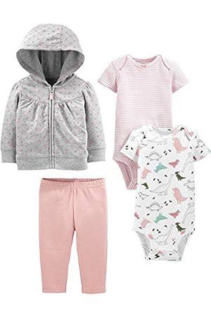 Simple Joys by Carter's 4-Piece Fleece Jacket, Bodysuit infant-and-toddler-pants-clothing-sets